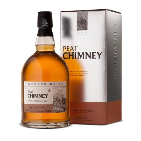 Peat Chimmey Wemyss Malts Scotch Whisky 46 Bouteille