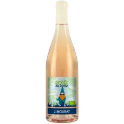 Rosée de Jardin Bio Vegan Rosé 2018 Mourat Val de Loire Bouteille
