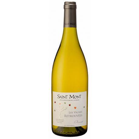Les Vignes Retrouvées Blanc Saint Mont Plaimont Bouteille