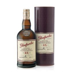 Glenfarclas 15 ans Single Malt Whisky Ecossais Bouteille