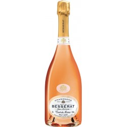 Champagne BESSERAT de BELLEFON Cuvée des Moines Rosé 75cl