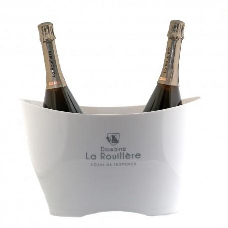 Seau Prestige Blanc élégant Rafraîchissant Domaine La Rouillère Pour Bouteille et Magnum