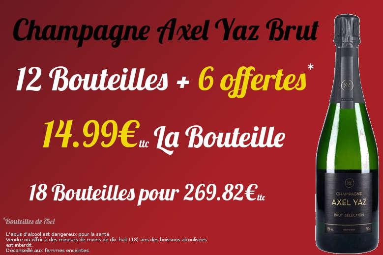 Champagne Axel Yaz Brut
